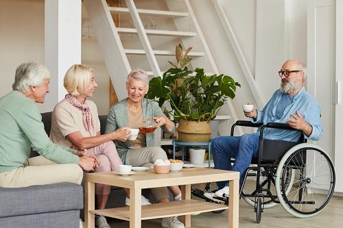 une maison de retraite à Nice